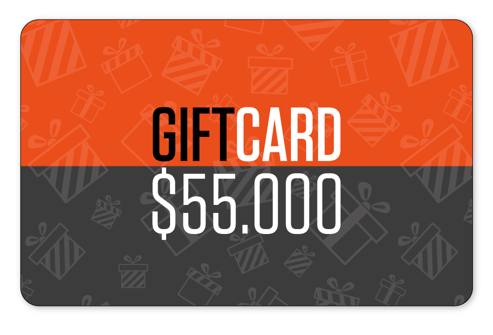 Gift Card $55.000