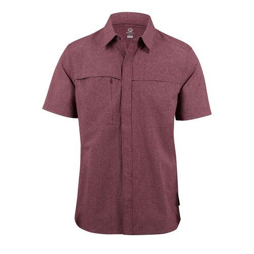 Camisa Hombre A/T SS Stch Wvn