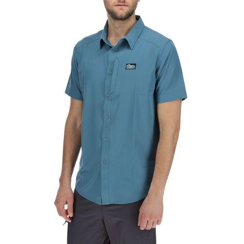 Camisa Hombre Short Sleeve Tech