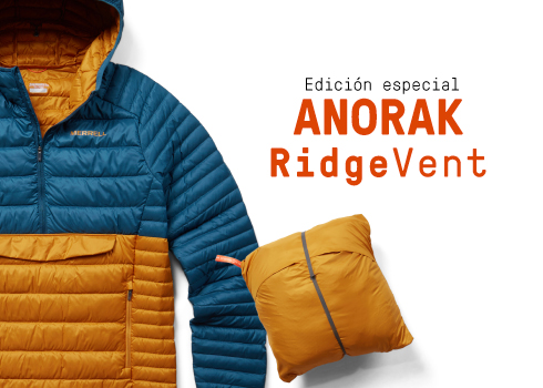 Edición especial anorak ridgevent